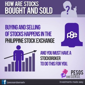 how are stocks sold infographic