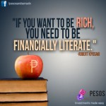 If you want to be rich, you need to be financially literate