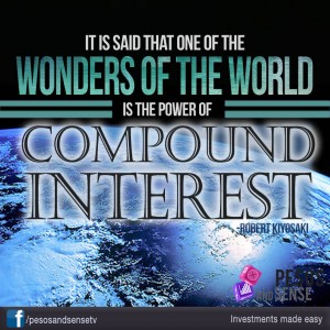 It is said that one of the wonders of the world is the power of compound interest. - Robert Kiyosaki