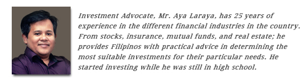 Aya Laraya, Investment Advocate