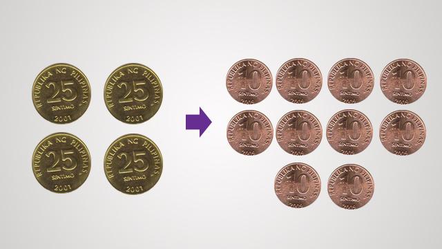 Stuck coins